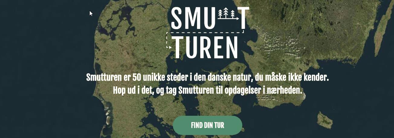 Smutturen.dk - Smutturen er 50 unikke steder i den danske natur
